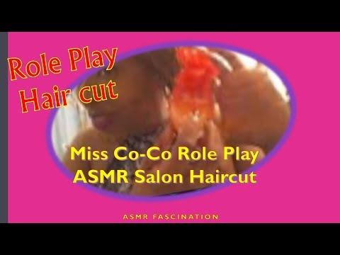 ASMR- MISS CO-CO asmr Haircut & Makeup Appointment💆‍♀️