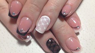 Дизайн ногтей. Колготки