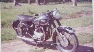 BSA A10 Golden Flash 1952