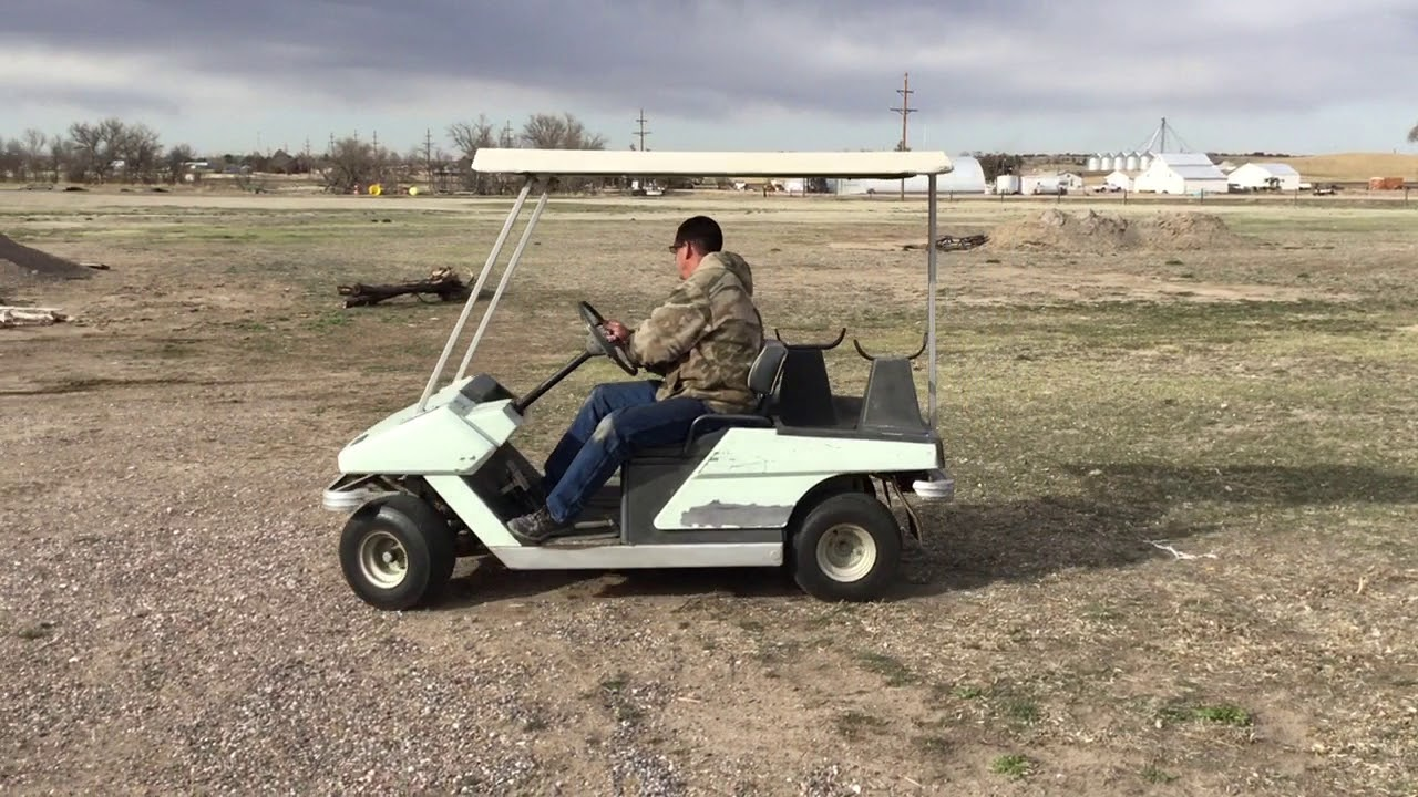 1975 Cushman Golf Cart Sells 5-9-18 On Bigiron