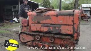 Chicago Pneumatic Crawler Tractor - Ken Avery Antique Tractor Collection Auction