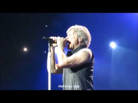 Bon Jovi Livin'On A Prayer @ Montreal May 18, 2018