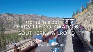 Riding The Leadville Colorado & Southern Scenic Train - The Traveling Tacos - Fall Leaf Peeping!