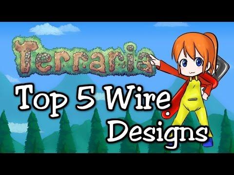 Terraria Wire Guide | Terraria 1 3 Top 5 Wire Designs 1 3 1 Wiring Update Prep Youtube
