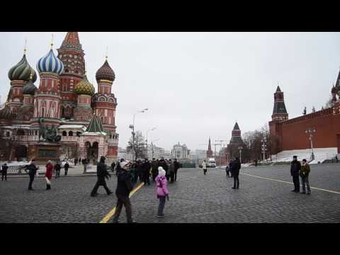 Moscow Russia travel video - 2016