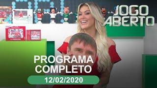 Jogo Aberto - 12/02/2020 - Programa completo