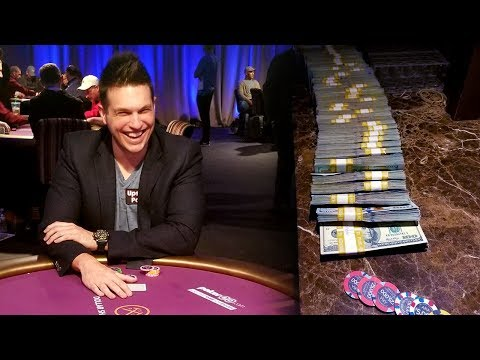 VLOG: Playing A $300000 Buy-In Poker Tournament