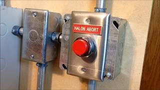Fenwal 3220 System Test 3: Halon Abort Operation