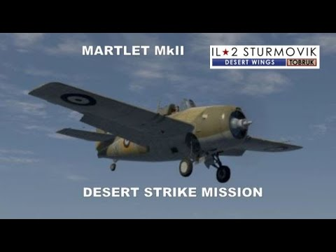 IL2 CLIFFS OF DOVER DESERT WINGS MISSION 4K UHD |