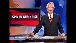 Andrea Nahles stürzt Franz Müntefering, ARD Brennpunkt 31.10.2005