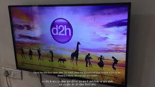 Videocon D2h Logo Hang Fix