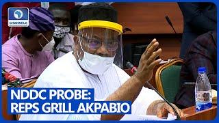 [FULL VIDEO] Reps Grill Niger Delta Minister, Godswil Akpabio Over NDDC