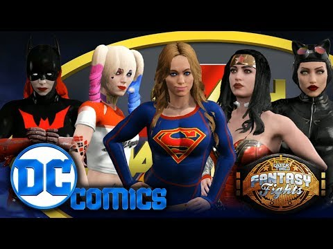 Women of DC - Fantasy Fight