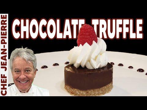 The Dessert Everybody Can Make Chocolate Truffle! Chef Jean-Pierre