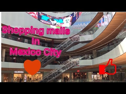 Shopping Malls In Mexico City Will Surprise You.
