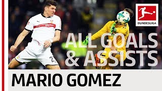 Mario Gomez - All Goals and Assists 2017/18