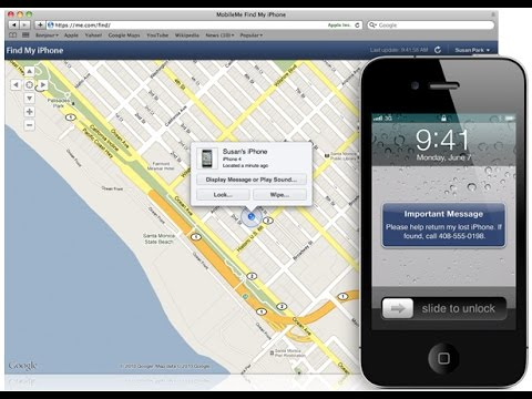 find my iphone with google account