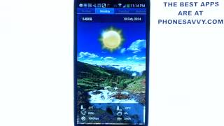 Swipe Weather - Android App Review - Excellent Weather App for Android