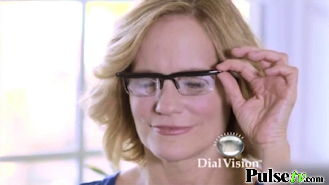 ecce9ef3ea Dial Vision Adjustable Reading Glasses As Seen on TV - YouTube