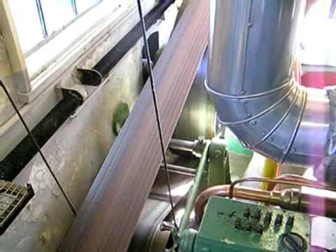 """Oude Bram, look around on a running """"Industrie"""" diesel. www.molen-de-eendracht.nl"""