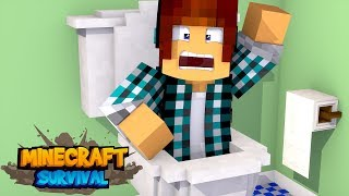 Minecraft Survival #32 - PULEI NO COCÔ !!