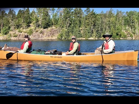 Wilderness Canoeing, Fishing, and Portaging - Quetico 2017