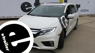 WeatherTech Front Floor Mats Review - 2018 Honda Odyssey - etrailer.co