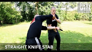 Krav Maga Technique of the Week: Instinctive Defense vs Straight Knife Stab, with Heath Leavitt