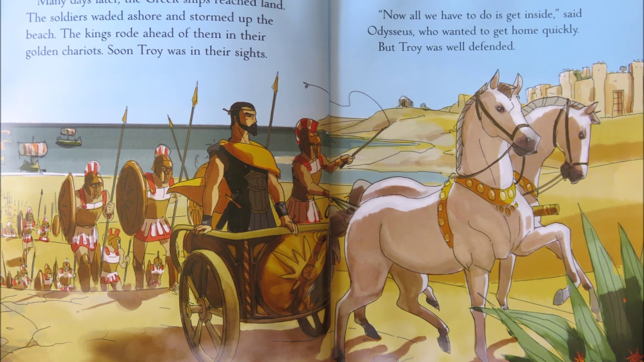 The Wooden Horse Of Troy The Greek Myths Part 1 Of 2