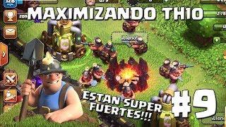 Desbloqueamos y Probamos los Mineros en TH10!! #9 - MAXIMIZANDO TH10 - CLASH OF CLANS