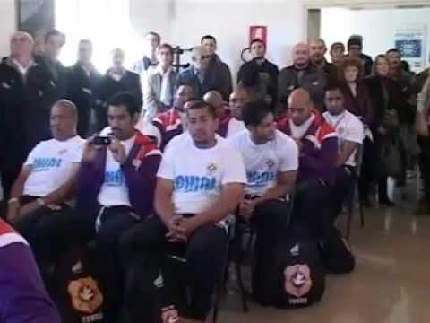 121109 Tonga Rugby a Castegnato