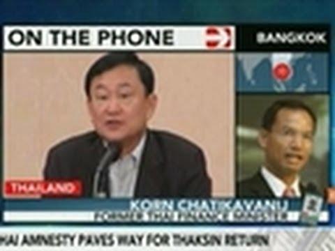 Korn Says Thaksin Pardon Push May Destabilize Politics