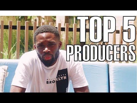 Juls Tells Us His Top 5 Afrobeats Producers!