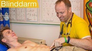 Blinddarmentzündung   Symptome, Untersuchung, Operation am Blinddarm