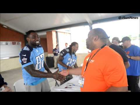 The 2014 Tennessee Titans Caravan made a stop in Jackson
