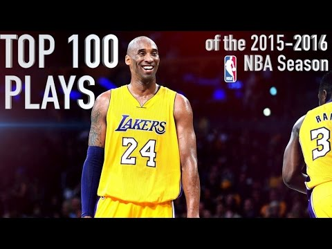Top 100 Plays of the '15-16 NBA Season