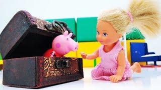 Штеффи и волшебная шкатулка. Мультики с куклами