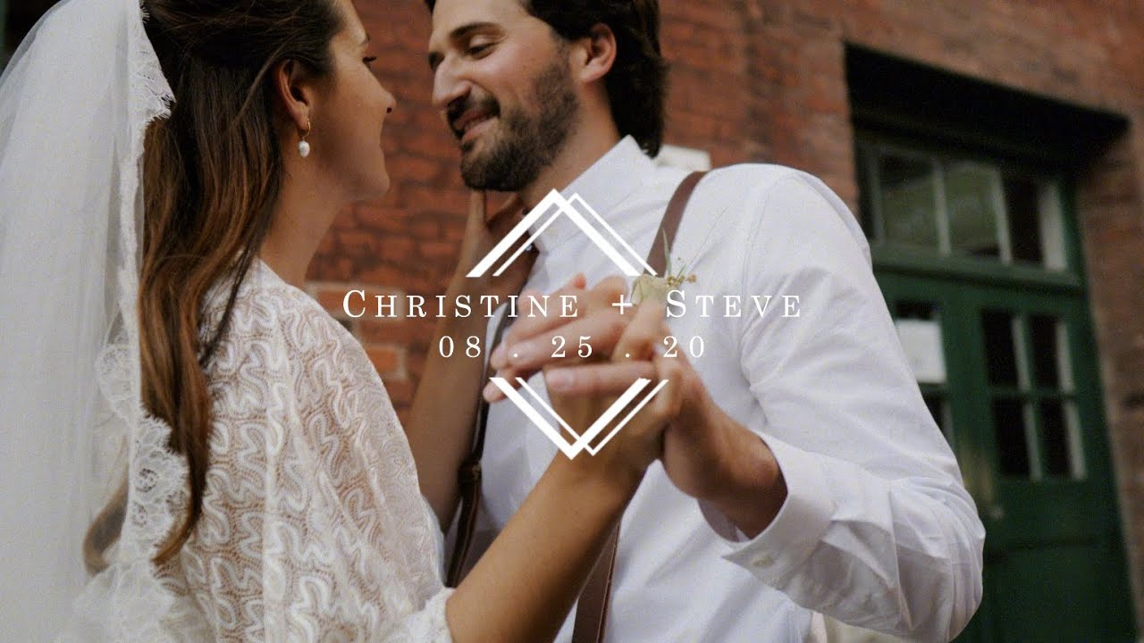 After being forced to postpone, they Eloped! Elopement video in Toronto's Distillery District