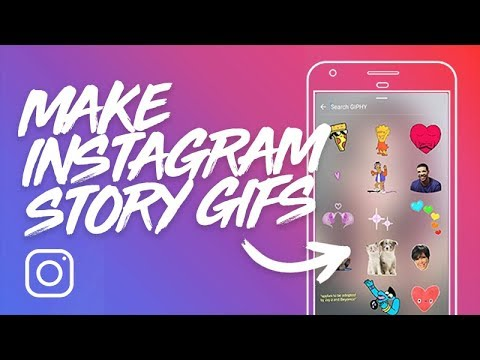 HOW TO MAKE ANYONE INTO A GIF STICKER FOR INSTAGRAM STORIES & GIPHY - WHOLE PROCESS TUTORIAL
