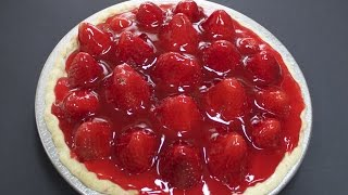 Fresh Strawberry Pie with Michaels Home Cooking