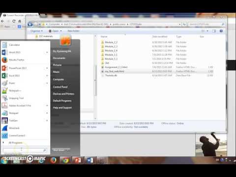 How To Edit Html File Using Notepad