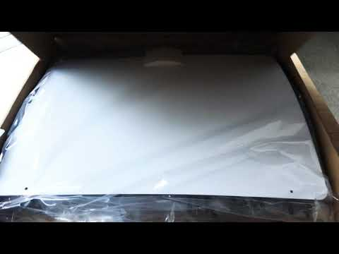 Mohu Leaf 50 HDTV Antenna Amplified 50 Mile Range Unboxing