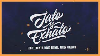 Jalo Y Exhalo - (Video Con Letras) - T3R Elemento, David Bernal y Ruben Figueroa - DEL Records 2020