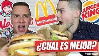 Mc Donald's, Wendy's o Burger King
