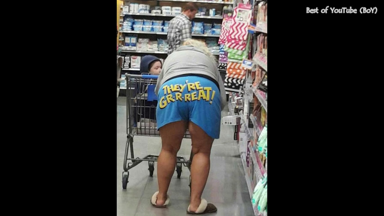 Funny Hilarious People That Can Only Found On Walmart Episode   F F B  Pics Best Of You