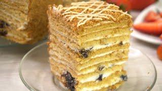 Торт который я готовила уже 1000 раз и буду готовить еще много раз Торт Рыжик
