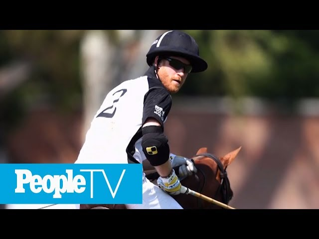 Prince Harry Leaves Meghan Markle & Baby At Home To Play Polo For His Charity In Rome | PeopleTV