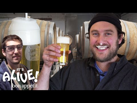 Brad Makes Beer | It's Alive | Bon Apptit