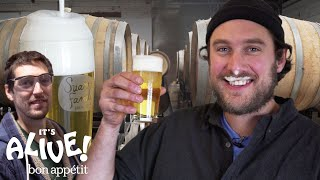 Brad Makes Beer | It's Alive | Bon Appétit