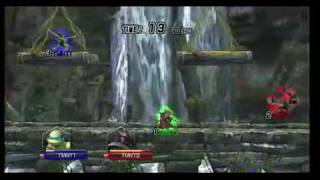 Teenage Mutant Ninja Turtles Smash-Up gameplay trailer wii